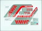 JAWA 350 12V - MATRICA KLT. TWIN SPORT