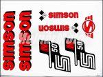 SIMSON 50 MATRICA KLT. N50 PIROS