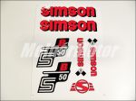SIMSON 50 MATRICA KLT. S50B PIROS