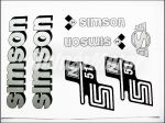 SIMSON 51 MATRICA KLT. N51 EZÜST