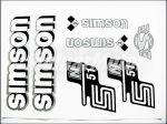 SIMSON 51 MATRICA KLT. N51 FEHÉR-EZÜST