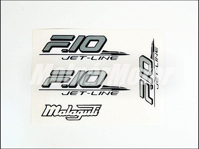 MALAGUTI F10 MATRICA KLT. F10 /EZÜST-FEKETE/